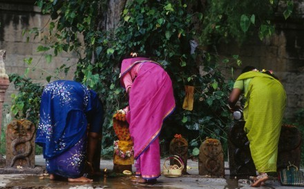 Women At Temple Kerala