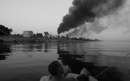 Nile Pollution Approaching Luxor