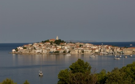 Primosten  Dalmatian Coast Between Sibenik And Split 23