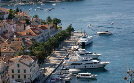View Of Harbour Hvar Croatia 31