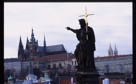 Statue Wenceslas Bridge