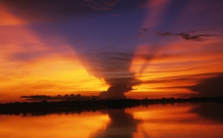 Sunset Congo River