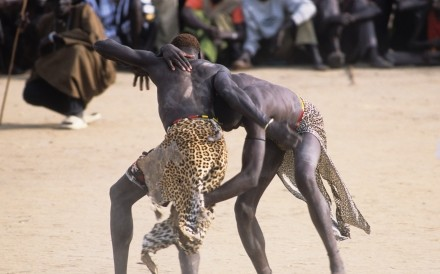 Wrestling Padak South Sudan