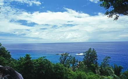 View From Mahe Seychelles