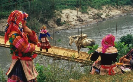 Flower Hmong Girls, Bridge