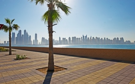 View Of JBR From Palm