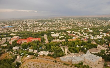 View of Osh