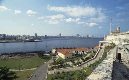 View Of Havana From Castello