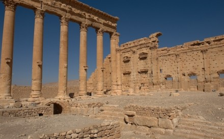 Temple Of Bel Palmyra 025