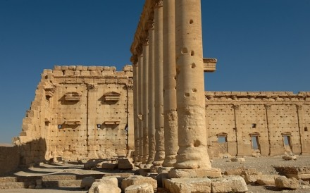 Temple Of Bel Palmyra 001