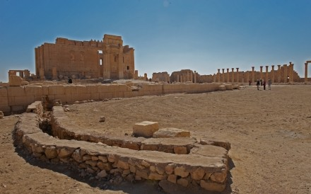 Temple Of Bel Palmyra 024