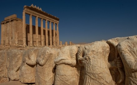 Temple Of Bel Palmyra 008