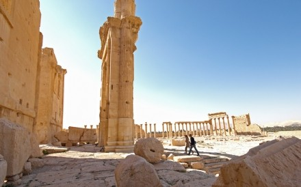 Temple Of Bel Palmyra 040